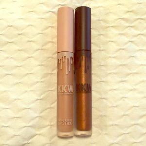 KKW Beauty Creme Liquid Lipstick and Gloss